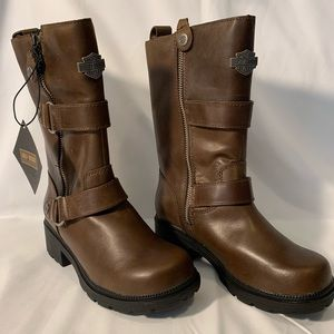 Harley-Davidson Ardsley half calf boots women 5M